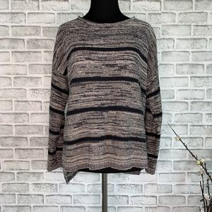 Eileen Fisher Boat Neck Organic Cotton Sweater